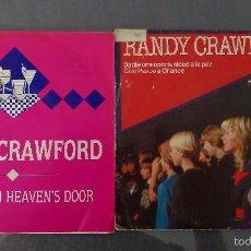 Discos de vinilo: LOTE 2 SINGLES RANDY CRAWFORD . Lote 60083071