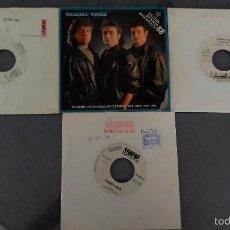 Discos de vinilo: LOTE 4 SINGLES RUMBA TRES. Lote 60085507