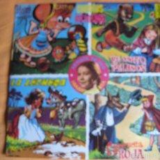 Discos de vinilo: CUENTOS INFANTILES LP ACROPOL 1968 ISABEL MARIA TELEVISION TVE. Lote 240261705