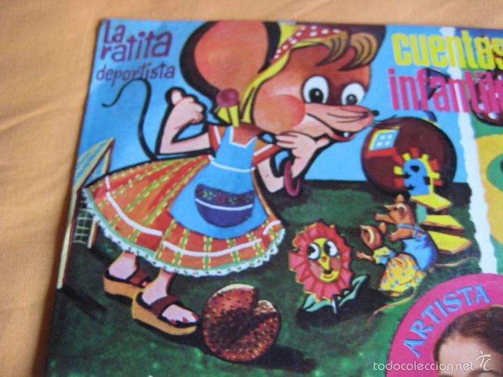 Discos de vinilo: CUENTOS INFANTILES LP ACROPOL 1968 isabel maria TELEVISION TVE - Foto 5 - 240261705