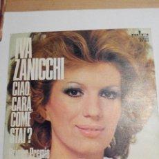Discos de vinilo: IVA ZANICCHI - CIAO CARA COME STAI? - SINGLE VINILO. Lote 60088551