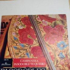 Discos de vinilo: PASODOBLES ESPAÑOLES - CAMPANERA Y PASODOBLE TE QUIERO - SINGLE VINILO. Lote 60089063