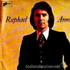 Discos de vinilo: RAPHAEL -- SINGLE. Lote 60094887