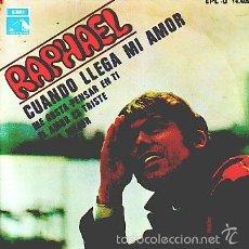 Discos de vinilo: RAPHAEL -- SINGLE EP. Lote 60094971