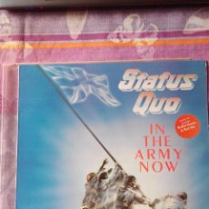 Discos de vinilo: STATUS QUO - IN THE ARMY NOW - LP VINILO. Lote 60095735