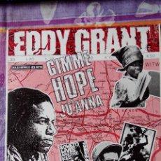 Discos de vinilo: EDDY GRANT - GIMME HOPPE JO'ANNA . MAXI SINGLE. Lote 118616914