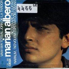 Discos de vinilo: MARIAN ALBERO / NO VOLEM ESPEAR COM ABANS + 3 (EP 1967). Lote 60103331