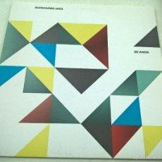Discos de vinilo: GUIMARAES JAZZ -20 ANOS-MINI LP-5 TEMAS- VINILO ROJO-NEON,P.A.T.O- N. Lote 60104619