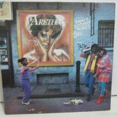 Discos de vinilo: ARETHA FRANKLIN - WHO'S ZOOMIN WHO? - 1985 - MEXICO - RARO - EX+/VG+. Lote 60106827