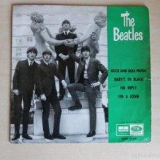 Discos de vinilo: THE BEATLES EP ROCK AND ROLL MUSIC 1964 PRIMERÍSIMA EDICIÓN. Lote 60108023