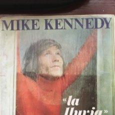 Disques de vinyle: MIKE KENNEDY-LA LLUVIA-1969. Lote 60110590