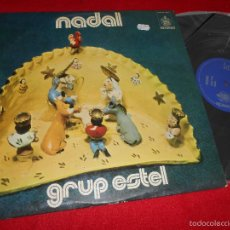 Discos de vinilo: GRUP ESTEL NADAL LP 1973 ESTEL HISPAVOX HHS 11-260 CATALA FOLK PSYCH RARO !!. Lote 199423186