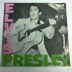 Discos de vinilo: ELVIS PRESLEY.BLUE SUEDE SHOES.EP.HECHO EN MEXICO.RCA VICTOR.. Lote 60115715