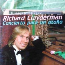 Discos de vinilo: RICHARD CLAYDERMAN - CONCIERTO DE OTOÑO - 2 LP VINILO. Lote 60128979
