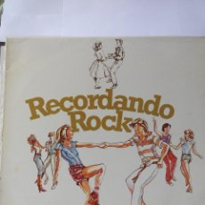 Discos de vinilo: LA ALEGRE BANDA - RECORDANDO ROCK - LP VINILO. Lote 60130903