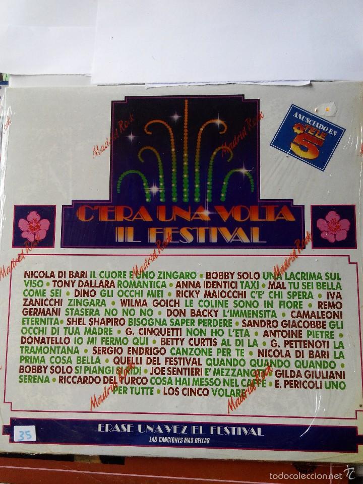C'ERA UNA VOLTA IL FESTIVAL - LAS MAS BELLAS CANCIONES 1990 - 2 LP VINILO (Música - Discos - LP Vinilo - Canción Francesa e Italiana)