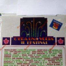 Discos de vinilo: C'ERA UNA VOLTA IL FESTIVAL - LAS MAS BELLAS CANCIONES 1990 - 2 LP VINILO. Lote 60131519