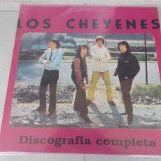 Discos de vinilo: LOS CHEYENES - DISCOGRAFIA COMPLETA - LP - RECOPILATORIO 1993. Lote 60133467