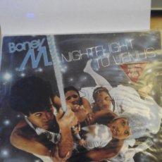 Discos de vinilo: BONEY M. - NIGHTFLIGHT TO VENUS - LP VINILO. Lote 60135939