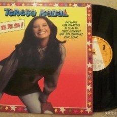 Discos de vinilo: LP TERESA RABAL - TE RE SA !!. Lote 60136019
