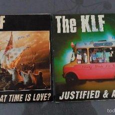 Discos de vinilo: LOTE 2 SINGLES THE KLF. Lote 60136151