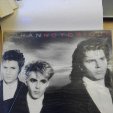Discos de vinilo: DURAN DURAN - NOTORIOUS - LP VINILO. Lote 60137143