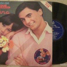 Discos de vinilo: LP ENRIQUE Y ANA - CANTA CON ENRIQUE Y ANA. Lote 60137427