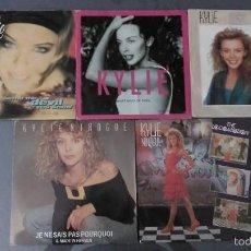 Discos de vinilo: LOTE 5 SINGLES KYLIE MINOGUE. Lote 60138055
