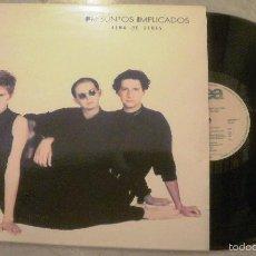 Disques de vinyle: LP PRESUNTOS IMPLICADOS - ALMA DE BLUES - WEA 1991. Lote 230429555