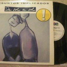 Disques de vinyle: LP PRESUNTOS IMPLICADOS - DE SOL A SOL WEA . Lote 60139315