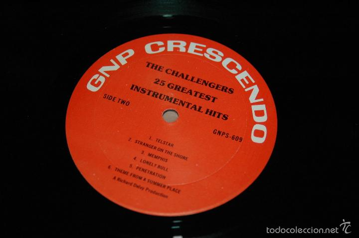 The challengers - 25 greatest instrumental hits - Sold at
