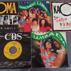 Discos de vinilo: LOTE 5 SINGLES DE KAOMA. Lote 60139999