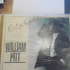 Discos de vinilo: WILLIAM PITT - CITY LIGHTS - MAXI SINGLE VINILO. Lote 60143211