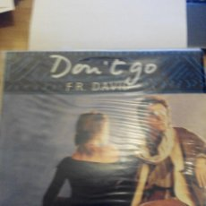 Discos de vinilo: F. R. DAVID - DON`T GO - MAXI SINGLE VINILO. Lote 60143683