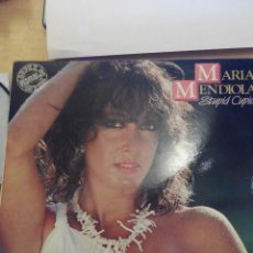 Discos de vinilo: MARIA MENDIOLA - STUPID CUPID - MAXI SINGLE VINILO. Lote 60144619