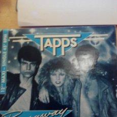Discos de vinilo: TAPPS - RUNAWAY(WITH MY LOVE) - MAXI SINGLE VINILO. Lote 60144803