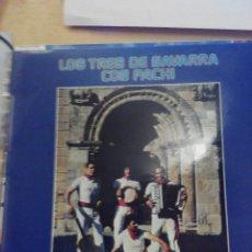 Discos de vinilo: LOS TRES DE NAVARRA CON PACHI - NUESTRAS FIESTAS - LP VINILO. Lote 60144843