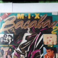 Discos de vinilo: MIX BACALAO 2 - AÑO 1987 - 2 LPS VINILO. Lote 60149763