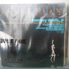 Discos de vinilo: SAMMY DAVIS JR - EL NACIMIENTO DEL BLUE. Lote 60151979