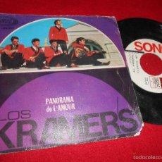 Discos de vinilo: LOS KRAMER'S PANORAMA / DE L'AMOUR 7 SINGLE 1966 SONOPLAY BEAT. Lote 60153215