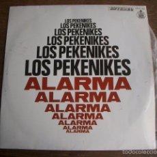 Discos de vinilo: LOS PEKENIKES ' ALARMA ' 1969 - SPAIN LP33 HISPAVOX. Lote 60153863