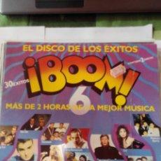 Discos de vinilo: VARIOS ARTISTAS - DISCO BOOM 6 - AÑO 1990 - 2 LP VINILO. Lote 60157771