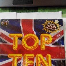 Discos de vinilo: VARIOS ARTISTAS - TOP TEN AÑO 1990- 2 MAXI SINGLES VINILO. Lote 60158091