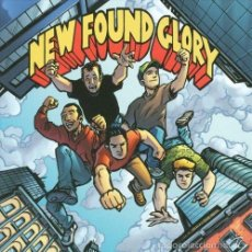 Discos de vinilo: NEW FOUND GLORY-TIP OF THE ICEBERG SINGLE VINYL WHITE/RED/BLUE SPLATTER. Lote 210260148