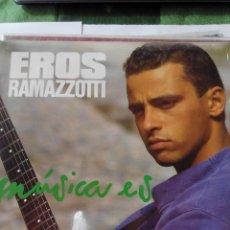 Discos de vinilo: EROS RAMAZZOTTI - MUSICA ES - LP VINILO. Lote 60159251
