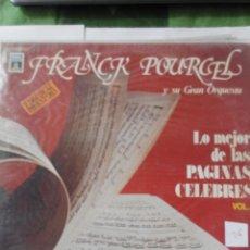 Discos de vinilo: FRANCR POURCEL Y SU GRAN ORQUESTA- PAGINAS CELEBRES - 2 LP VINILO. Lote 60159355