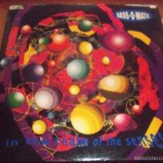 Discos de vinilo: MAXI-SINGLE DE BASS 0 MATIC. IN THE REALM OF SENSES. EDICION VIRGIN DE 1992 (UK).. Lote 60183119
