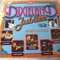 Discos de vinilo: DIXIELAND JUBILEE VOL 2 DOBLE LP. Lote 60185635
