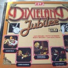 Discos de vinilo: DIXIELAND JUBILEE VOL 1 DOBLE LP. Lote 60186375
