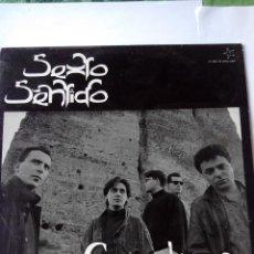 Discos de vinilo: SEXTO SENTIDO - CON EL VIENTO - LP VINILO. Lote 60190071